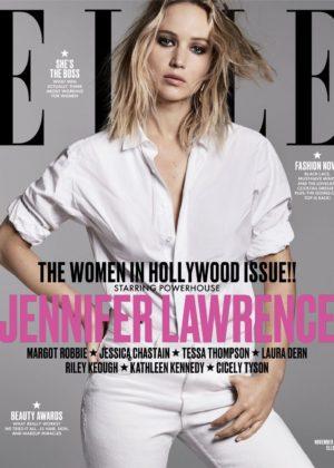 Jennifer Lawrence - Elle Magazine (November 2017)