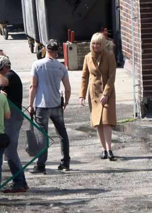 Jennifer Lawrence Filming 'Red Sparrow' in Bratislava