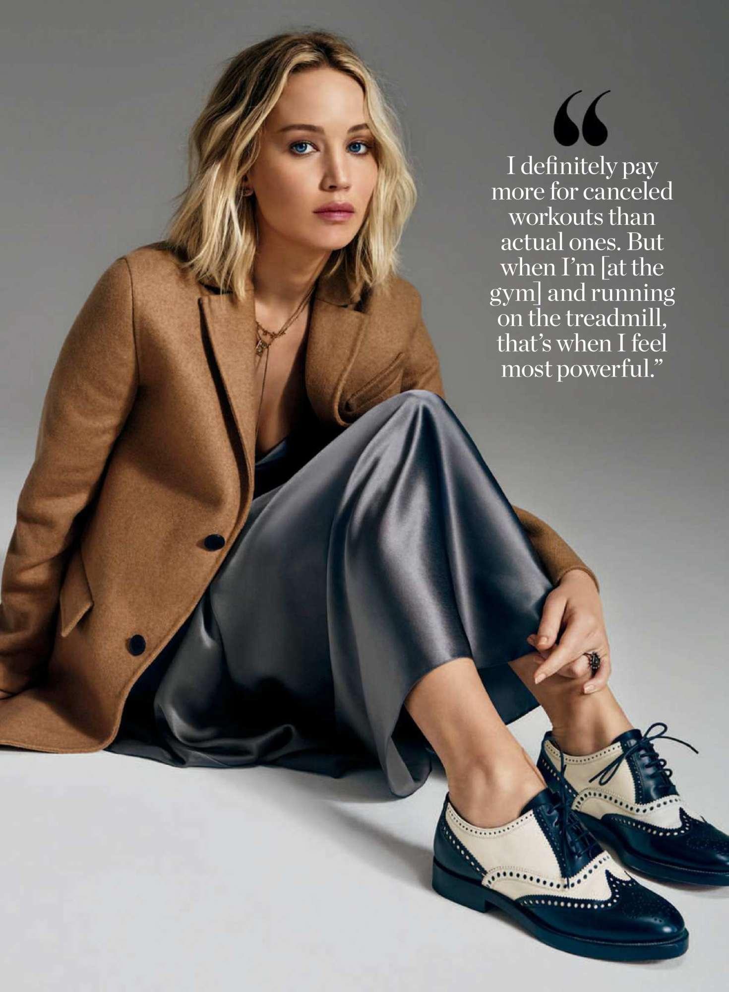Jennifer Lawrence foe InStyle Magazine (October 2018)