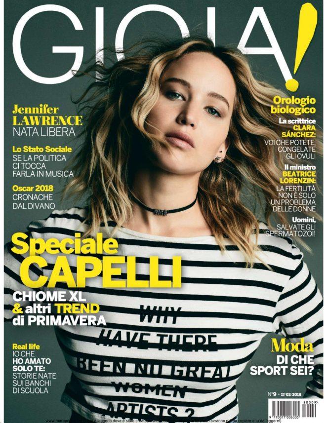 Jennifer Lawrence - Gioia Magazine (March 2018)