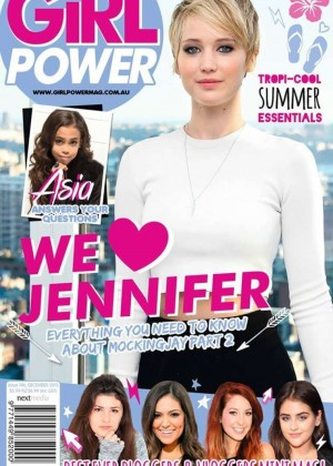 Jennifer Lawrence - Girl Power Magazine (December 2015)