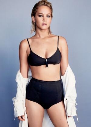 Jennifer Lawrence - Glamour US Magazine (February 2016) adds