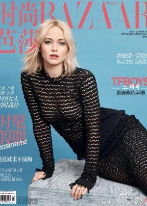 Jennifer Lawrence - Harper's Bazaar China Cover (July 2016)