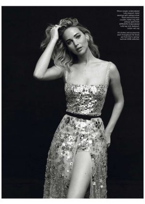 Jennifer Lawrence - Harper's Bazaar Singopore (April 2018)