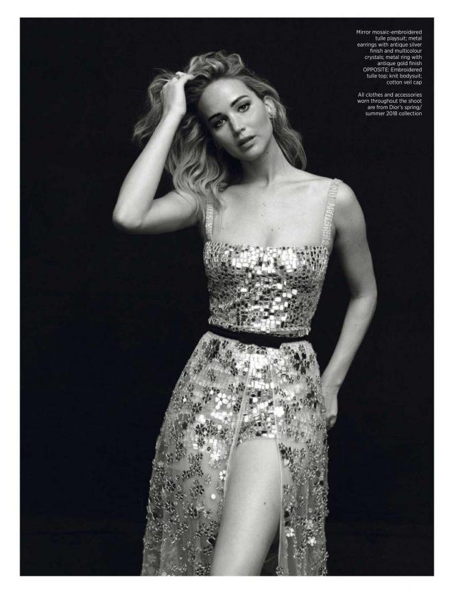 Jennifer Lawrence - Harper's Bazaar Singopore (April 2018)