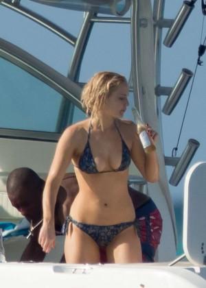 Jennifer Lawrence in a Bikini (2016)-62