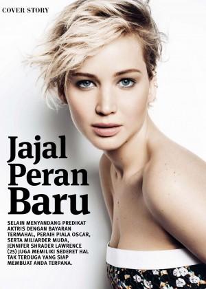 Jennifer Lawrence - Joy Indonesia Magazine (January 2016)