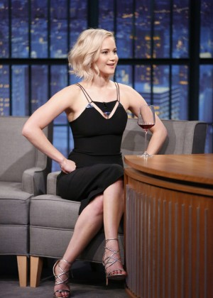 Jennifer Lawrence - 'Late Night With Seth Meyers' in New York City