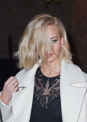 Jennifer Lawrence - Leaves Her Hotel in New York