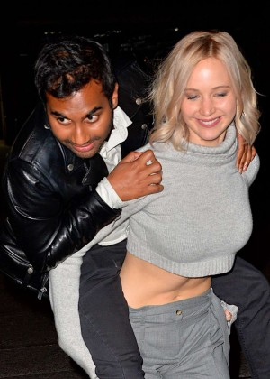 Jennifer Lawrence - Leaves Saturday Night Live Party in NY