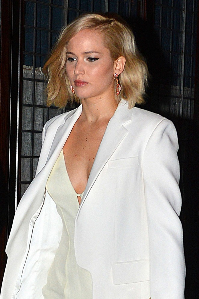 Jennifer Lawrence - Leaving Greenwich Hotel in NYC