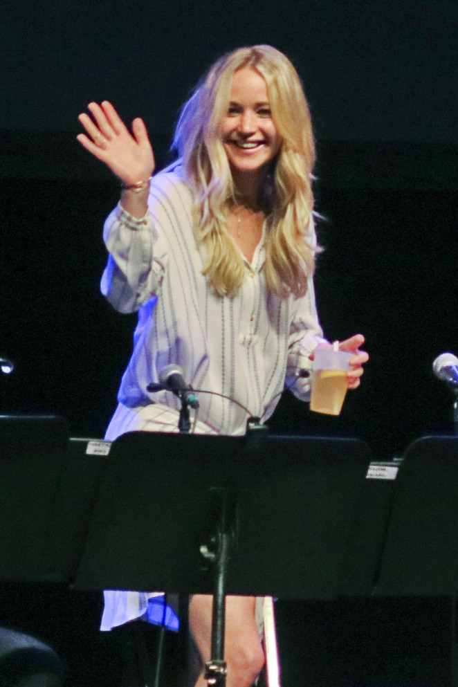 Jennifer Lawrence - Live Reading of 'The Big Lebowski' in Montreal