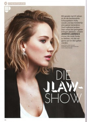 Jennifer Lawrence - Miss Austria Magazine (October 2015)