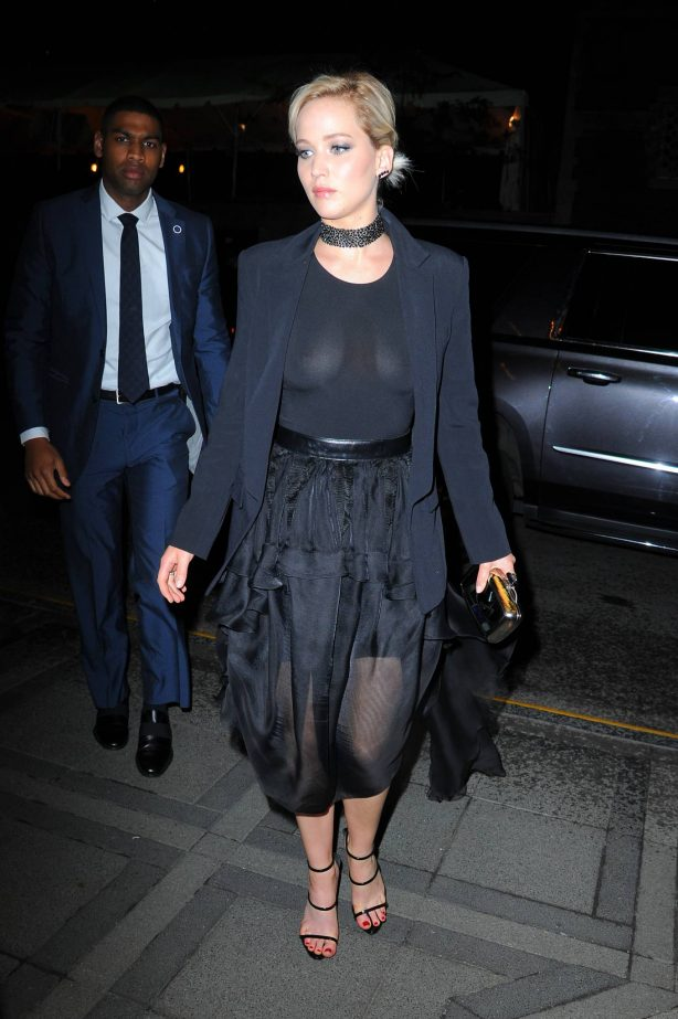Jennifer Lawrence - Night out in Manhattan