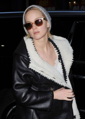 Jennifer Lawrence Night Out in New York