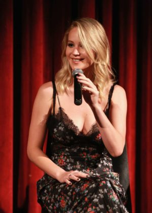 Jennifer Lawrence - official Academy screening of mother! in NYC