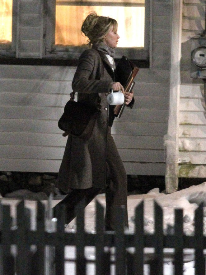 "Jennifer Lawrence - Filming ""Joy"" set in Boston"