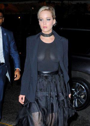 Jennifer Lawrence in Black -04