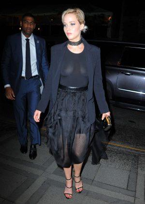 Jennifer Lawrence in Black -07