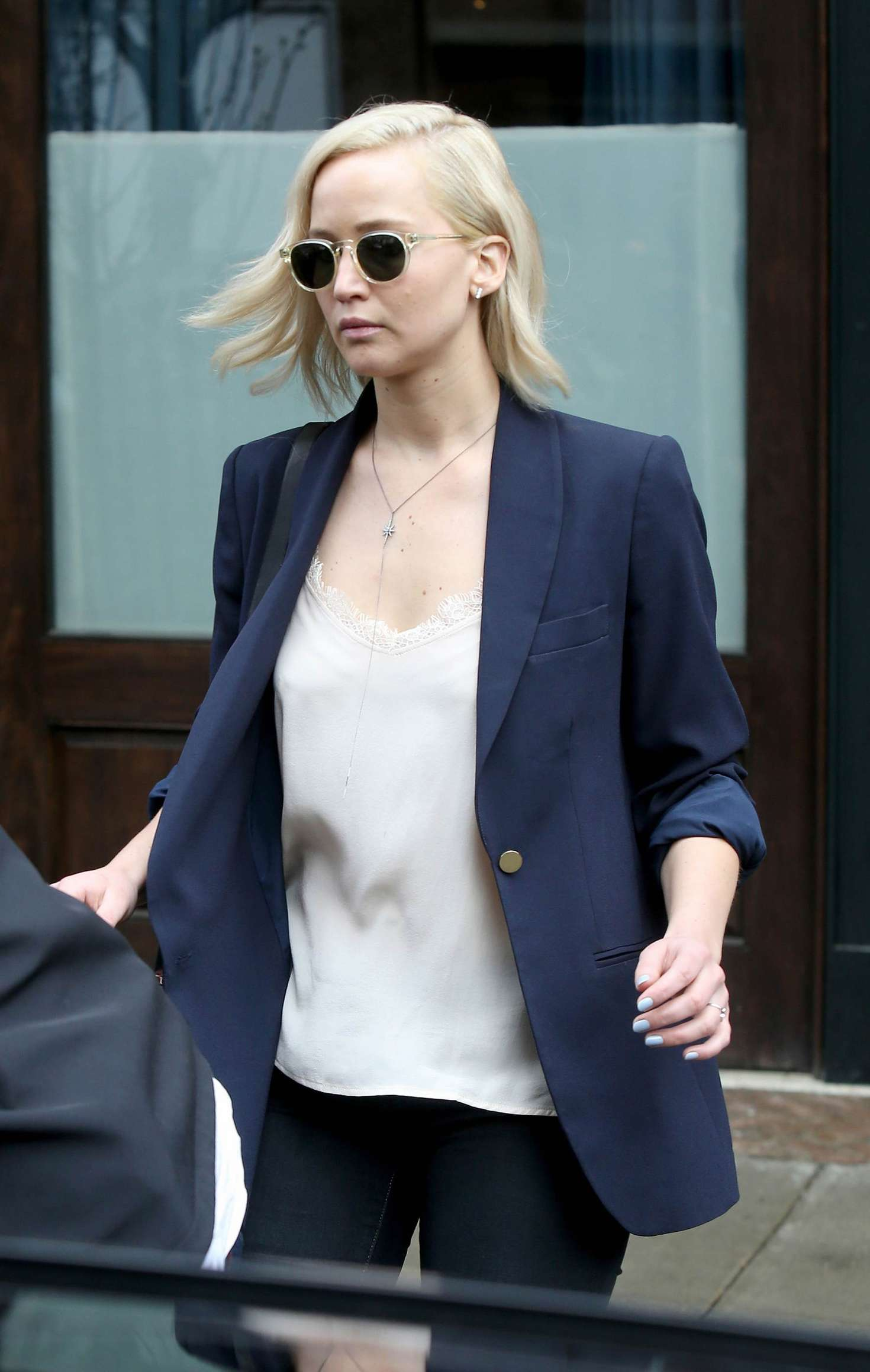 Jennifer Lawrence out and about in New York City