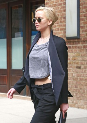 Jennifer Lawrence out and about in NY