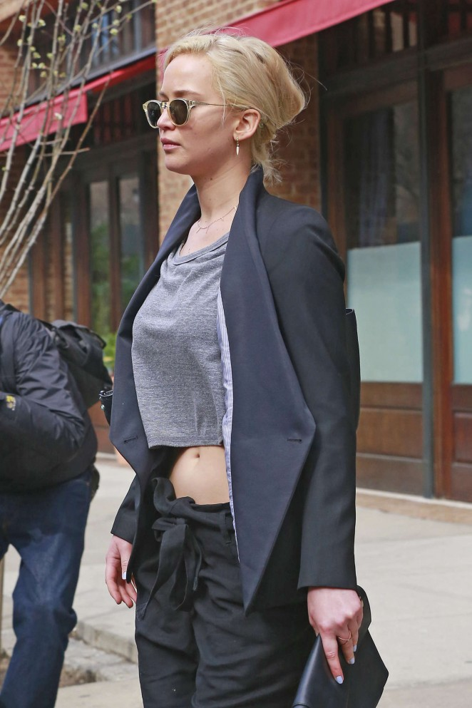 Jennifer Lawrence out and about in NY -04