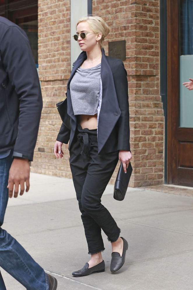 Jennifer Lawrence out and about in NY -08