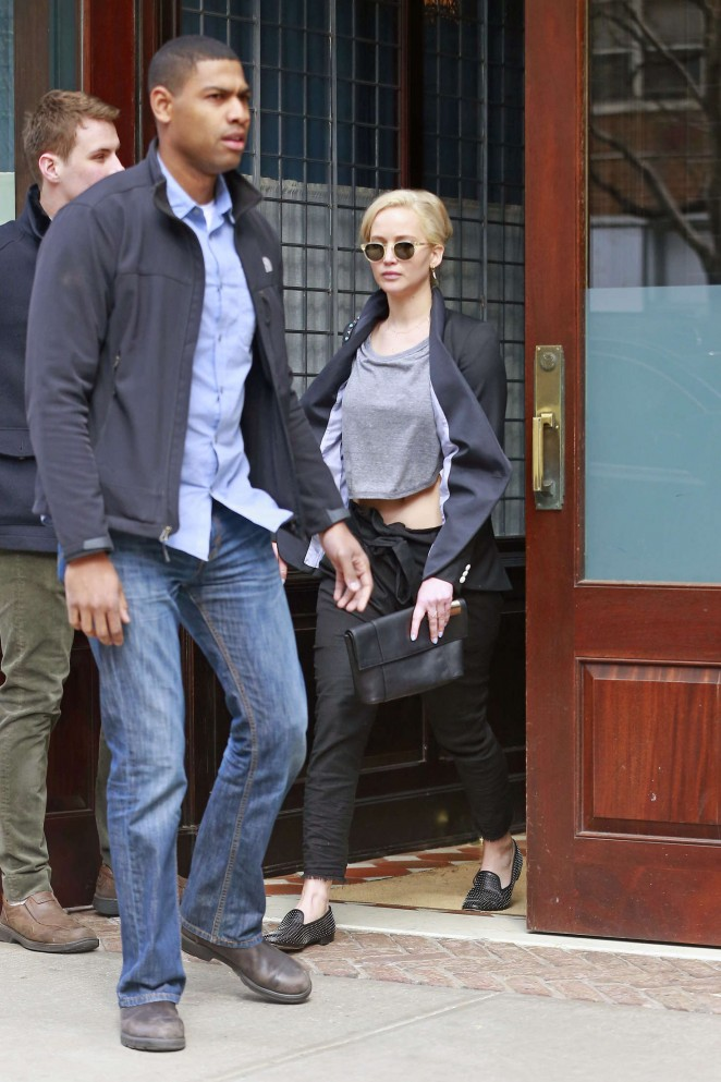 Jennifer Lawrence out and about in NY -11