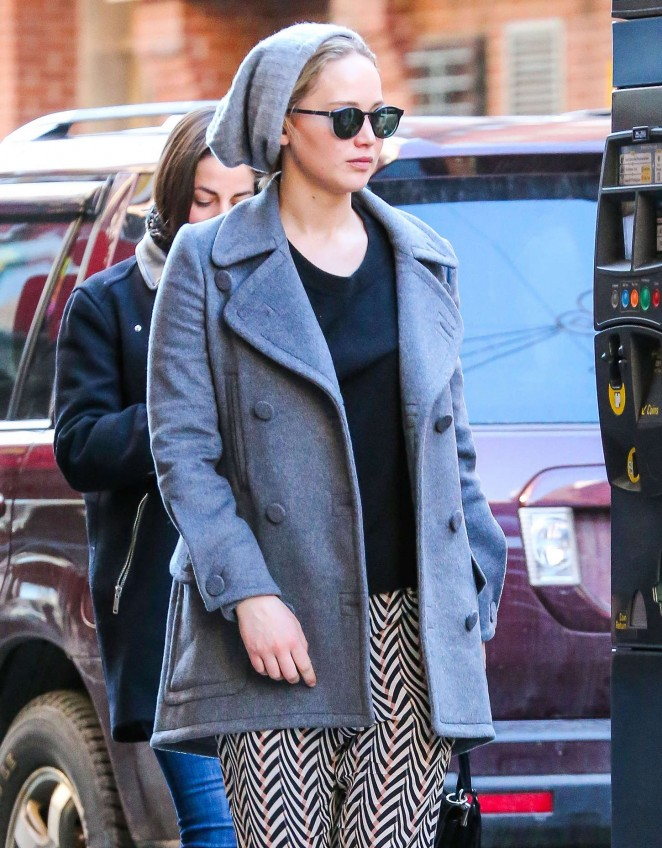 Jennifer Lawrence - Out and about in NYC