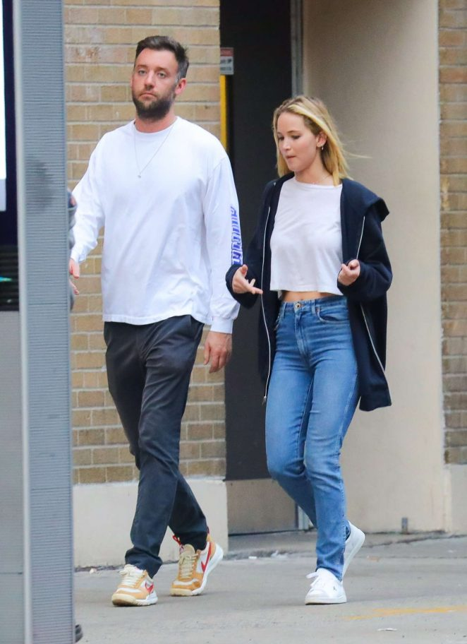 Jennifer Lawrence - Out in New York City