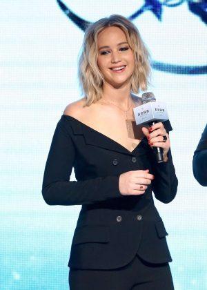 Jennifer Lawrence - 'Passenger' Press Conference in Beijing