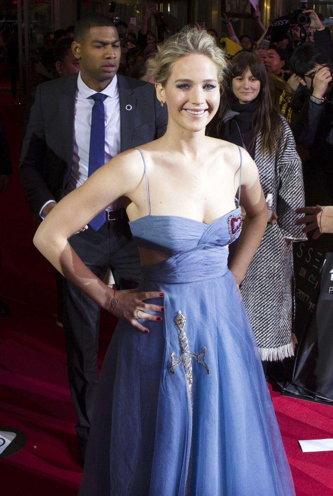 Jennifer Lawrence - 'Passengers' Premiere in Seoul