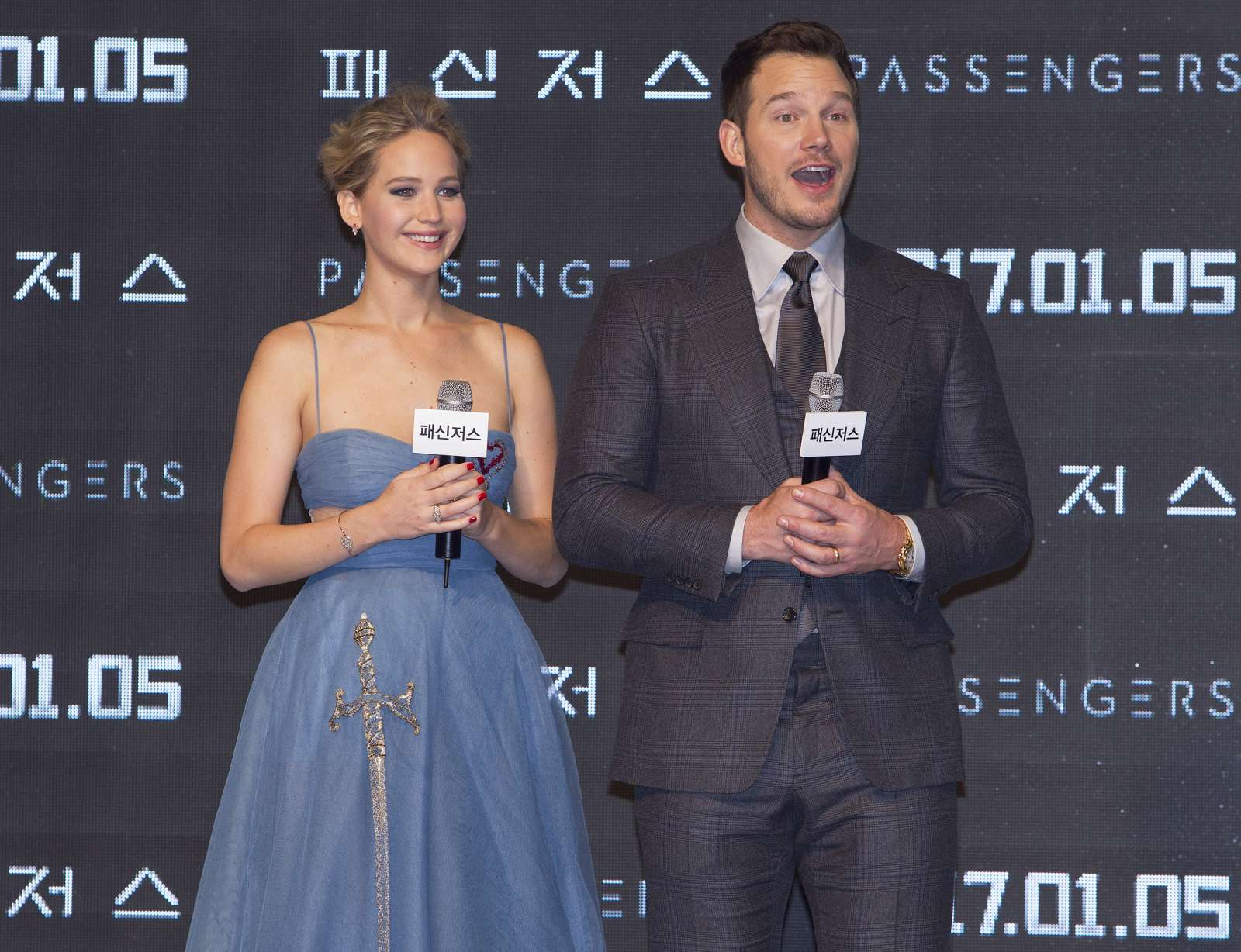 Jennifer Lawrence 2016 : Jennifer Lawrence: Passengers Premiere in Seoul -09