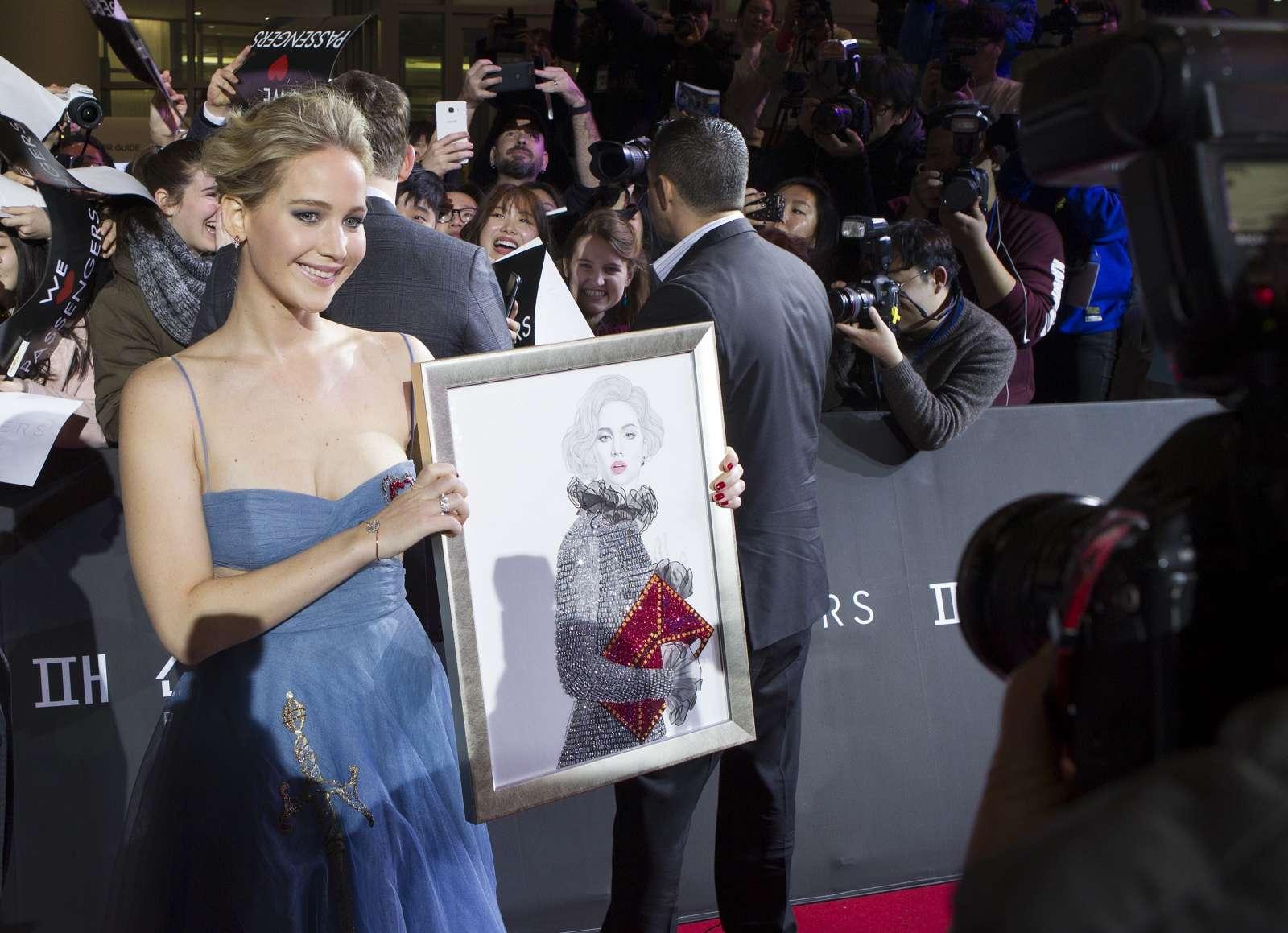 Jennifer Lawrence 2016 : Jennifer Lawrence: Passengers Premiere in Seoul -10