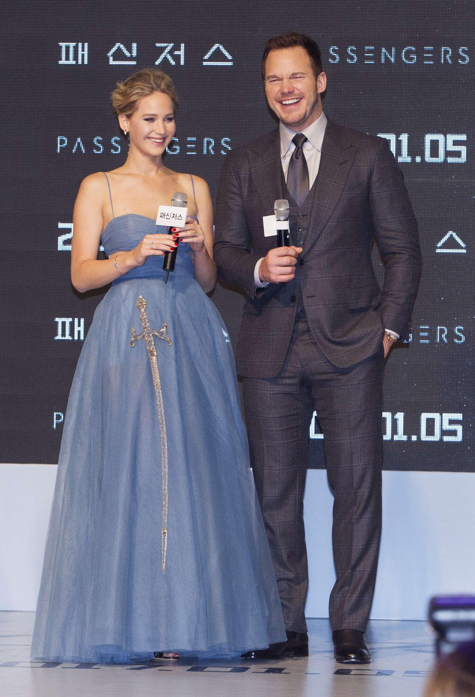 Jennifer Lawrence 2016 : Jennifer Lawrence: Passengers Premiere in Seoul -13