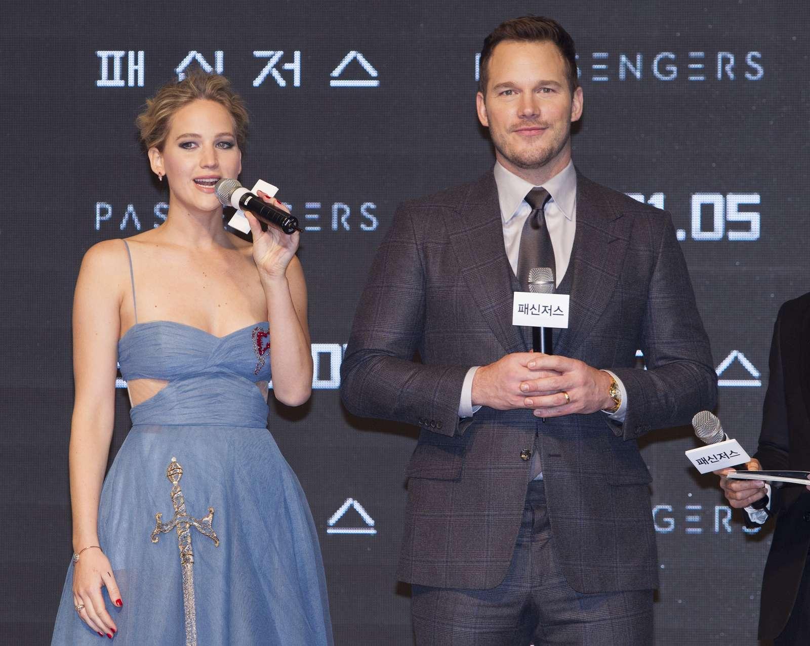 Jennifer Lawrence 2016 : Jennifer Lawrence: Passengers Premiere in Seoul -22