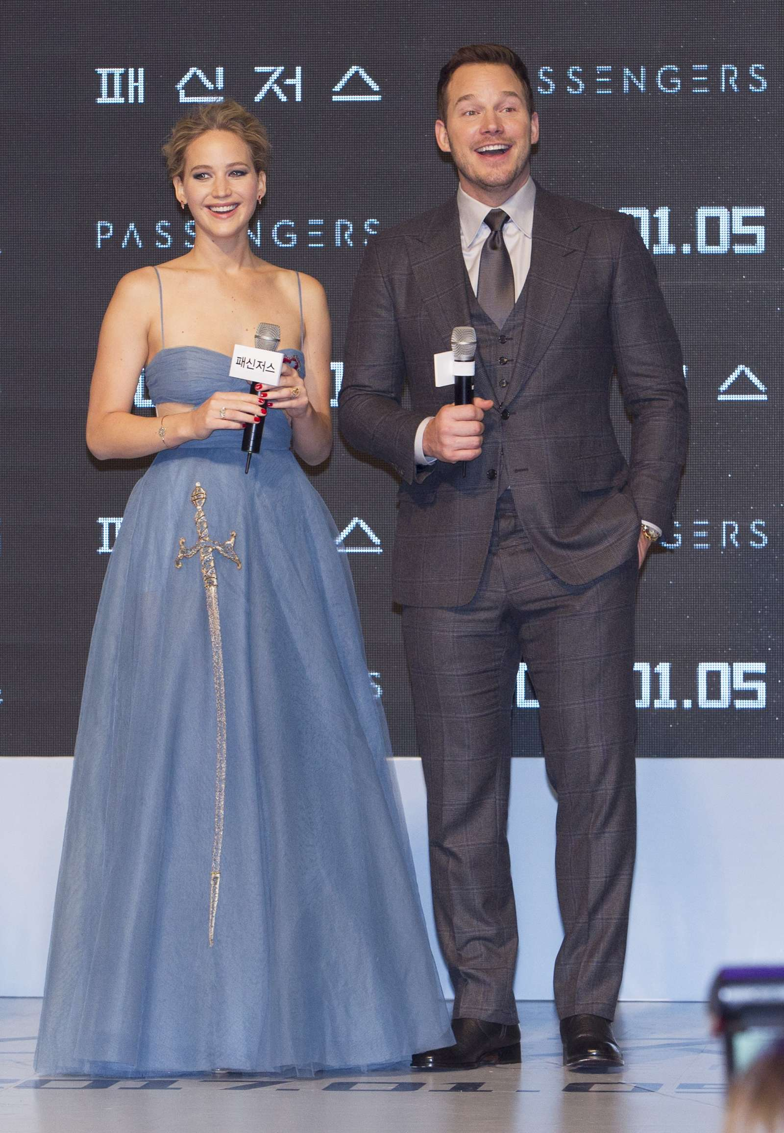 Jennifer Lawrence 2016 : Jennifer Lawrence: Passengers Premiere in Seoul -23