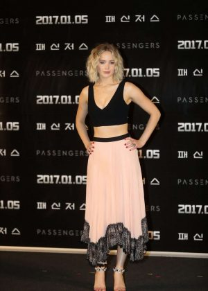 Jennifer Lawrence - 'Passengers' Press Conference in Seoul