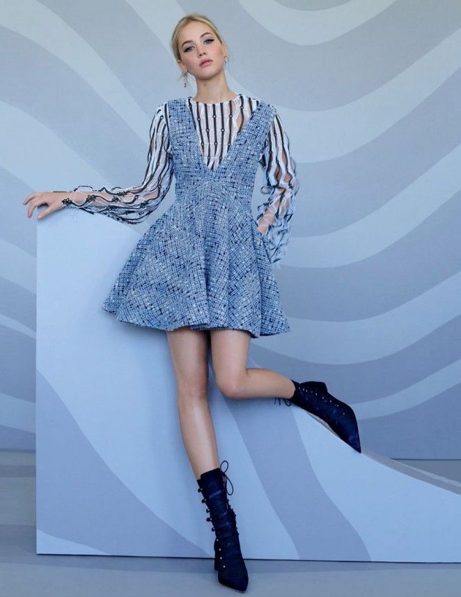 Jennifer Lawrence - Photoshoot for Dior 2015 by Jean-Baptiste Mondino