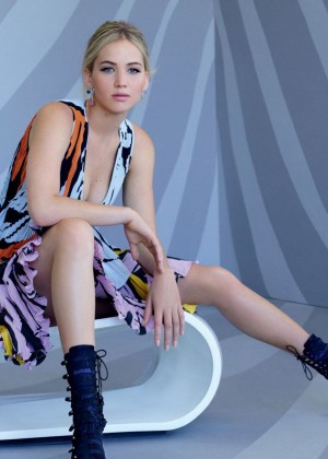 Jennifer Lawrence: Photoshoot for Dior 2015-06