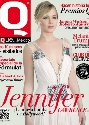 Jennifer Lawrence - Q Magazine (November 2015)