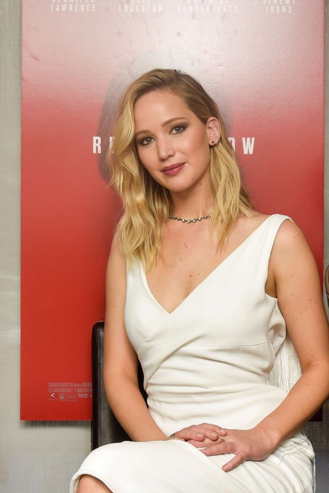 Jennifer Lawrence – 'Red Sparrow' Luncheon in Washington