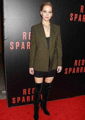 Jennifer Lawrence - 'Red Sparrow' Screening in Washington