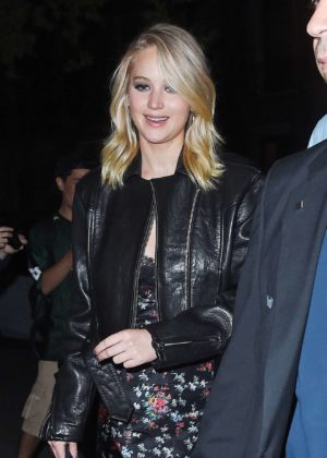 Jennifer Lawrence - Seen at the MOMA for a screening of Mother!