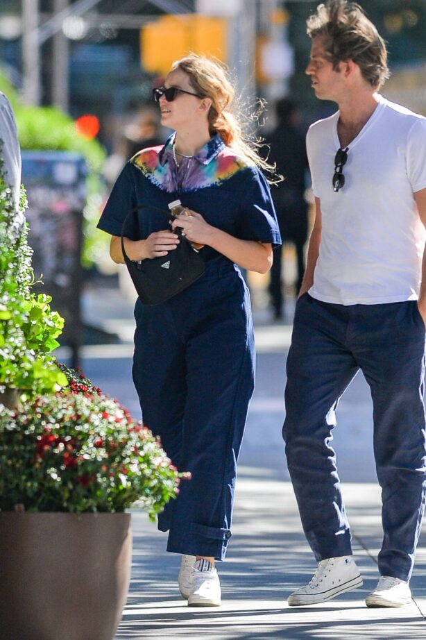Jennifer Lawrence - Stepping out in New York City