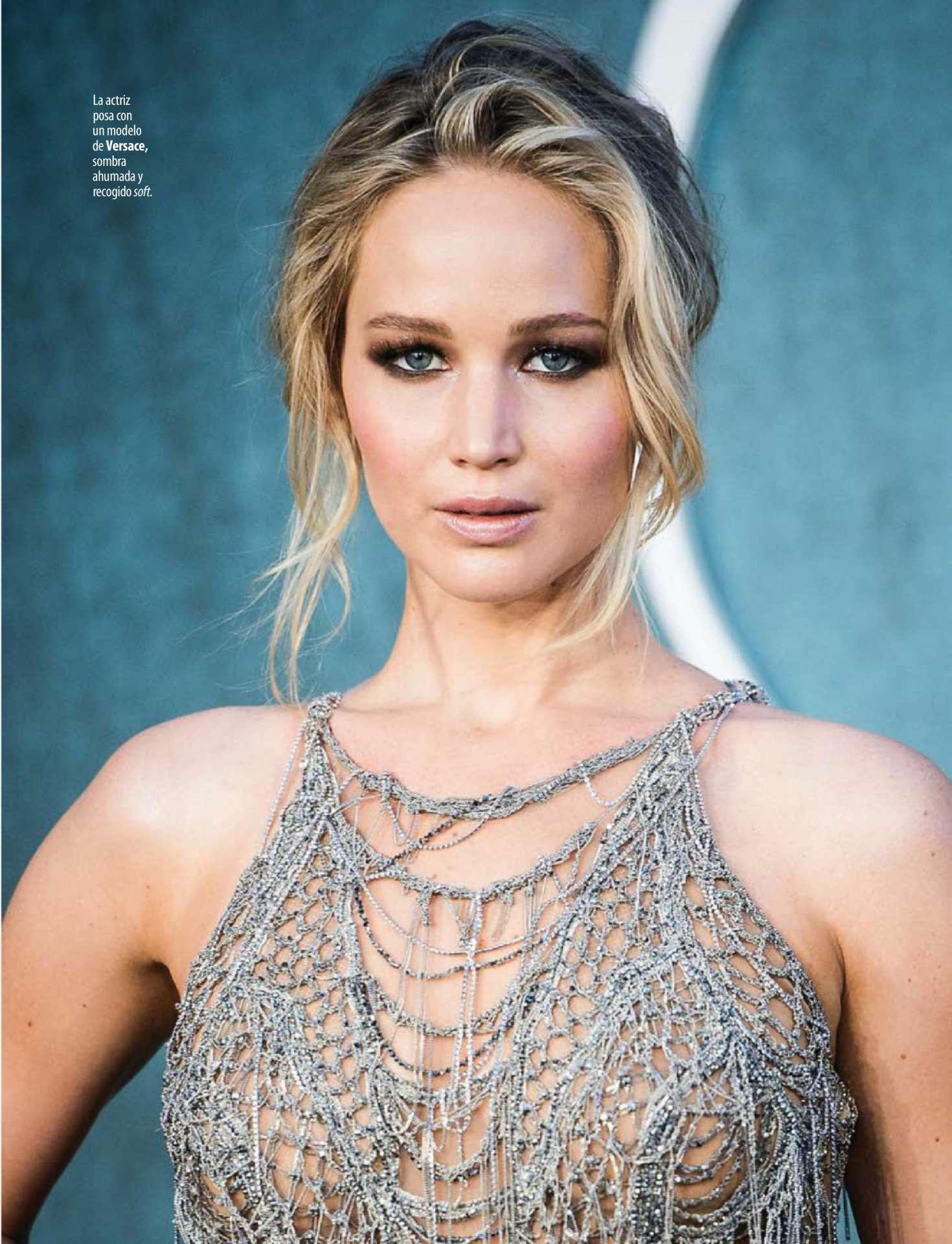 20 Square Metres Jennifer Lawrence Stilo Magazine January 2018 Indian