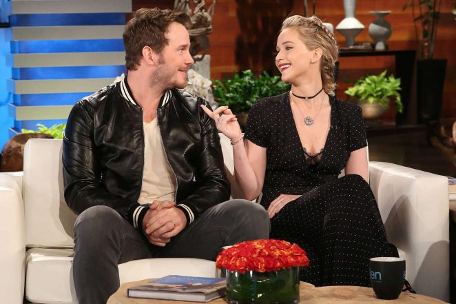Jennifer Lawrence - The Ellen DeGeneres Show in Burbank