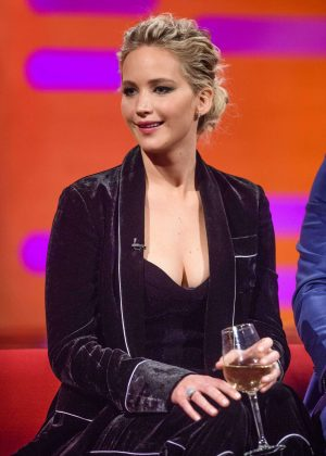 Jennifer Lawrence - 'The Graham Norton Show' in London