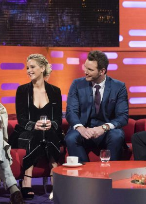 Jennifer Lawrence - The Graham Norton Show in London