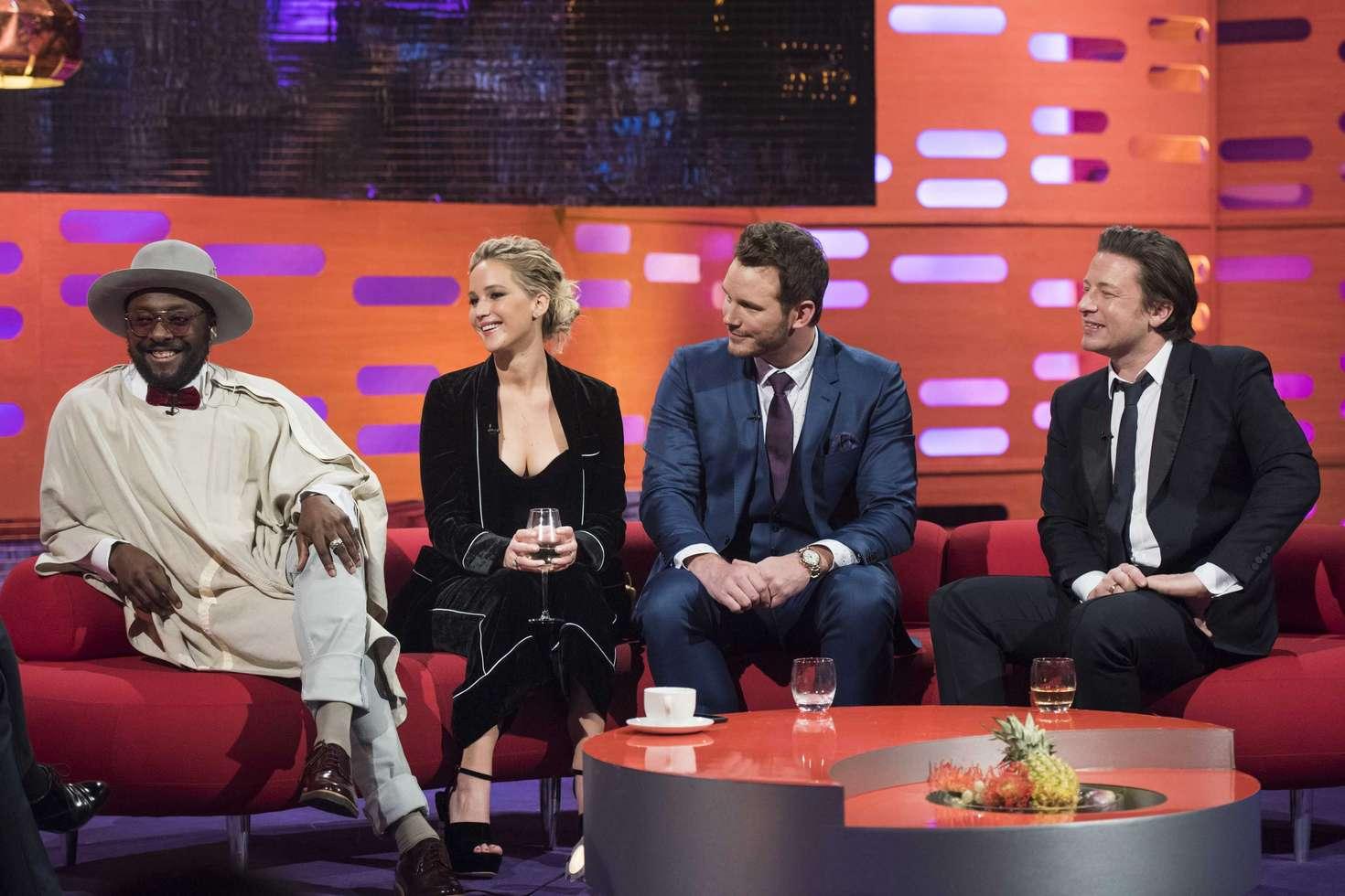 Jennifer Lawrence - The Graham Norton Show in London